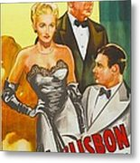 Storm Over Lisbon, Us Poster, From Left Metal Print