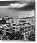 Storm Over San Antonio Texas Skyline Metal Print
