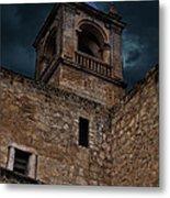 Storm Over The Alcazaba - Antequera Spain Metal Print