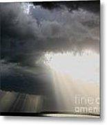 Storm Rays Metal Print