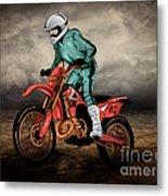 Storm Rider V1 Metal Print