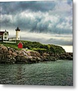 Storm Rolling In Metal Print by Heather Applegate