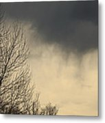 Storm Virga Over Rogue Valley Metal Print