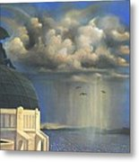 Storm Watch At Griffith's Metal Print