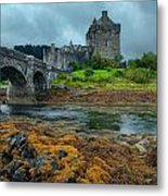Storming The Castle Metal Print