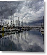 Storm's Approach  Metal Print