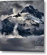 Storms Over Jagged Peaks Metal Print