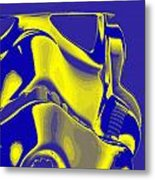 Stormtrooper Helmet 8 Metal Print