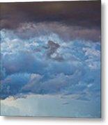 Stormy Blues - Casper Wyoming Metal Print
