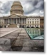 Stormy Capitol Day I Metal Print