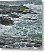 Stormy Day In Rhode Island Metal Print