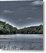 Stormy Day On The Potomac River Metal Print