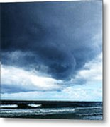 Stormy - Gray Storm Clouds By Sharon Cummings Metal Print