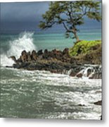 Stormy Maui Morning Metal Print