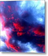 Stormy Monday Blues Metal Print