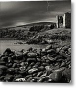 Stormy Night In Ireland Metal Print
