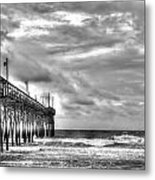 Stormy Perspective Metal Print