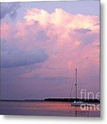 Stormy Seas Ahead Metal Print