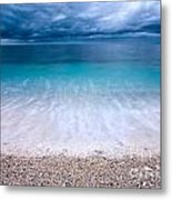 Stormy Seascape Metal Print