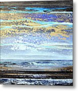 Stormy Skies Hauxley Haven No1 Metal Print