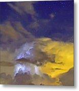 Stormy Stormy Night Metal Print