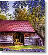Storybook Farms Metal Print