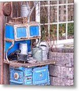 Stove  Appliance Cooker  Kitchen  Antique Metal Print