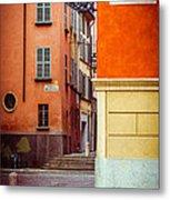 Strada Al Duomo Duomo Street Metal Print