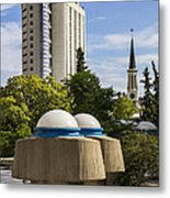 Strange Buenos Aires Architecture Metal Print