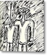 Strange Friends #1 Metal Print