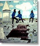Strangeways Prison Riots Uk.1990s Metal Print