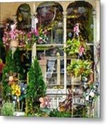 Strasburg Flower Shop Metal Print