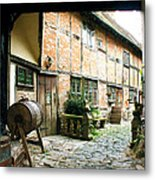 Stratford Back Alley Metal Print