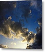 Stratosphere To Surface Metal Print