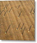 Straw Bales, Chenevelles Metal Print