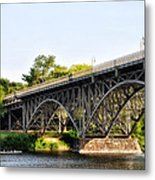 Strawberry Mansion Bridge And The Schuylkill River Metal Print