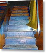 Stray Breeze On The Stairs Metal Print