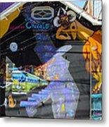 Street Art Valparaiso Chile 5 Metal Print