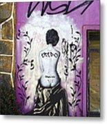 Street Art Valparaiso Chile 8 Metal Print