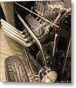 Street Car Racer Metal Print