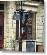Street Corner In New Orleans Metal Print