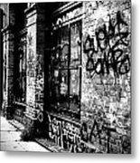 Street Graffiti Metal Print