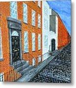 Street In Dublin Metal Print