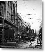 Street In Melbourne  Metal Print