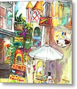 Street In Saint Martin Metal Print