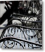 Street Jazz In The Big Easy Metal Print