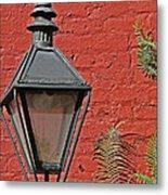 Street Lamp Metal Print by Jeanne  Woods