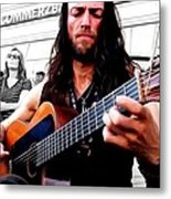 Street Musician Series #1 Metal Print
