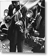 Street Musicians, 1935 Metal Print