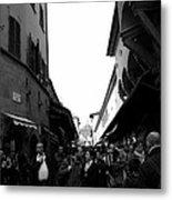 Street Of Florence Metal Print